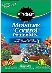 Miracle Gro Moisture Control Potting Mix 8qt