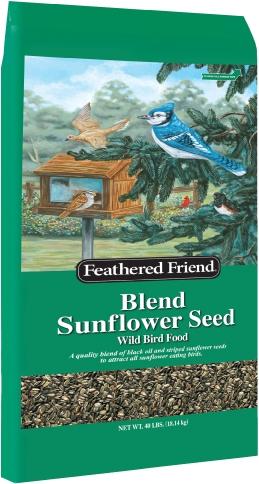Feathered Friend Blend Sunflower 40lb