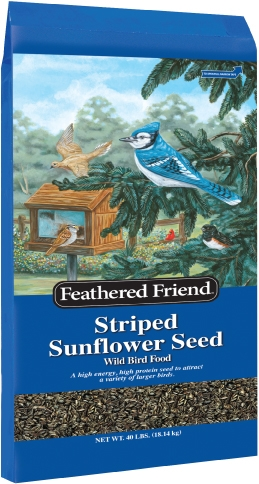Feathered Friend Grey Striped Sunflower 40lb