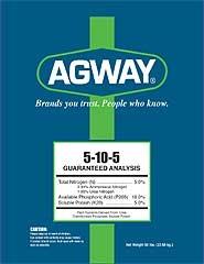 Agway 5-10-5 Fertilizer 50lb