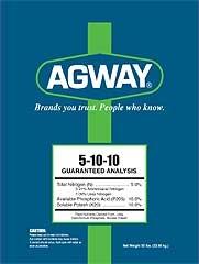 Agway 5-10-10 Fertilizer 50lb