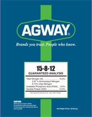 Agway 15-8-12 Fertilizer 50lb