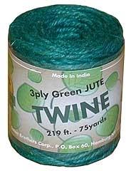 Jute Twine Green 219ft