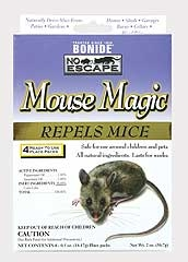 Mouse Magic Repellent 4-pack