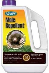 Agway Mole Repellent 2.5m 5lb