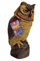 Action Garden Defense Owl