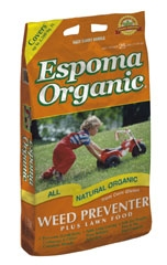 Espoma Organic Weed Preventer/lawn Food 25lb