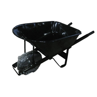 Contractor Wheelbarrow With Flat-free Tire 7cf