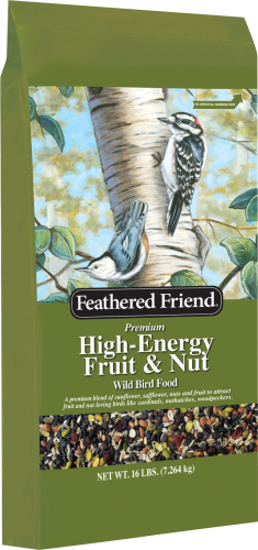 Feathered Friend Premium High-energy Fruit & Nut Wild Bird Food 16lb