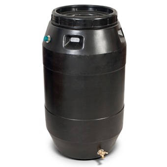 Epoch Solutions Rain Barrel Black 55gal