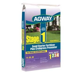 Agway Stage 1 Seed Starter Fertilizer Plus Crabgrass Preventer 11-23-10 5m