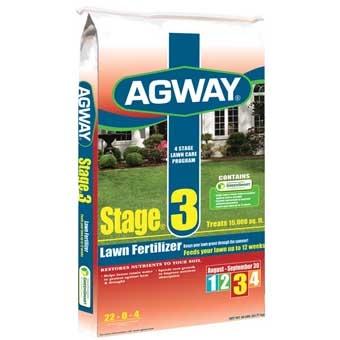 Agway Stage 3 Lawn Fertilizer 22-0-4 15m