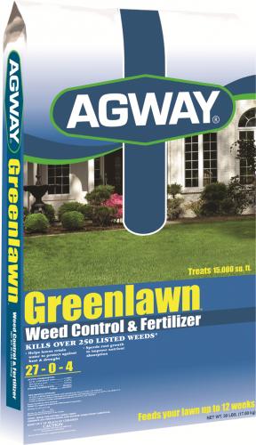 Agway Greenlawn Weed Control & Fertilizer 15m