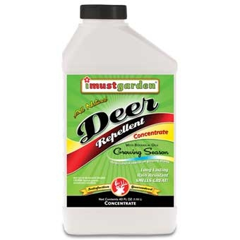 I Must Garden All Natural Deer Repellent Concentrate 32 Oz