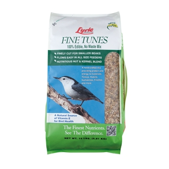 Lyric Fine Tunes Wild Bird Food 15 Lb