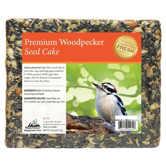Heath Premium Woodpecker Seed Cake 2 Lb