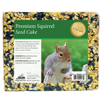 Heath Premium Squirrel Seed Cake 2 Lb