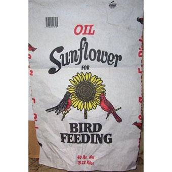 Black Oil Sunflower Seed 40 Lb