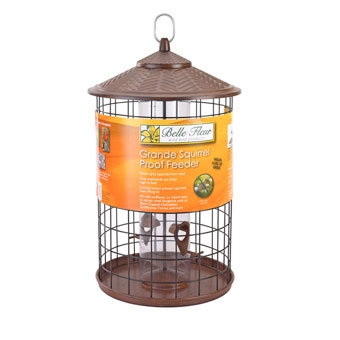 Belle Fleur Grande Squirrel Proof Bird Feeder