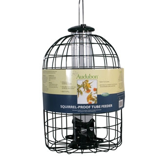 Audubon Squirrel-proof Tube Bird Feeder