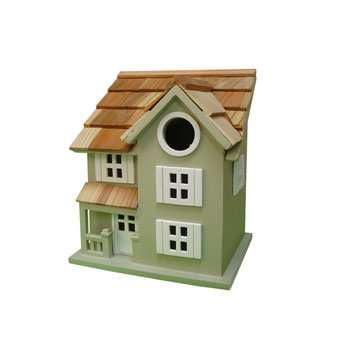 Home Bazaar Townhouse Birdhouse Green