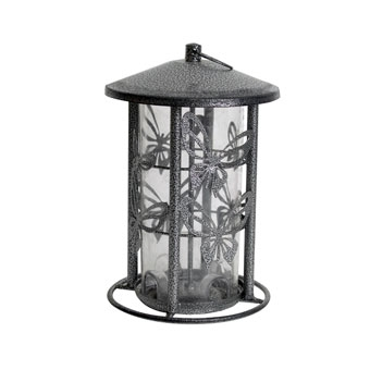 Heath Butterfly Decorative Mixed Bird Feeder