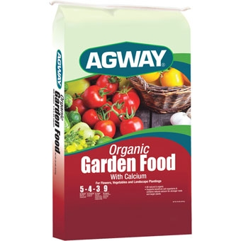 Agway Organic Garden Food With Calcium 5-4-3 20 Lb