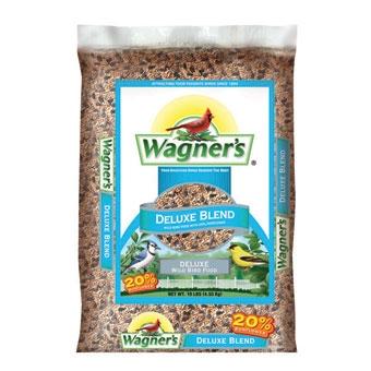 Wagner's Deluxe Blend Wild Bird Food 10 Lb