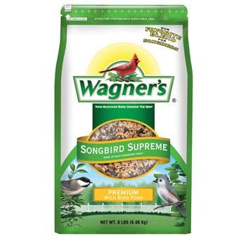 Wagner's Songbird Supreme Premium Wild Bird Food 8 Lb