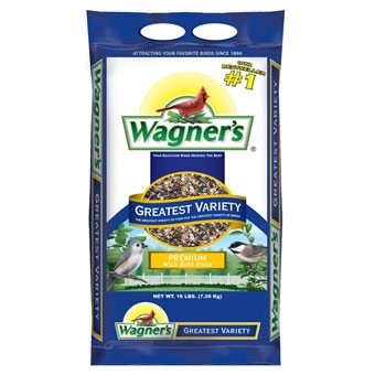 Wagner's Greatest Variety Premium Wild Bird Food 16 Lb