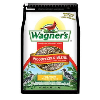 Wagner's Woodpecker Blend Premium Wild Bird Food 4 Lb