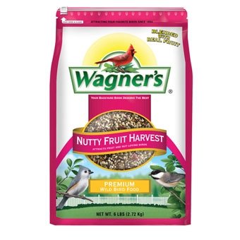 Wagner's Nutty Fruit Harvest Blend Premium Wild Bird Food 6 Lb