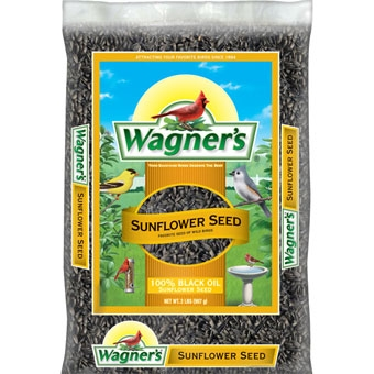 Wagner's 100% Black Oil Sunflower Seed 2 Lb