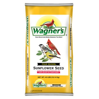 Wagner's Four Season 100% Black Oil Sunflower Seed 40 Lb