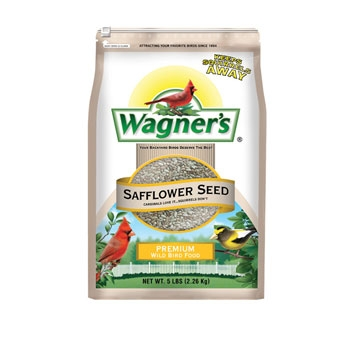 Wagner's Safflower Seed Premium Wild Bird Food 5 Lb