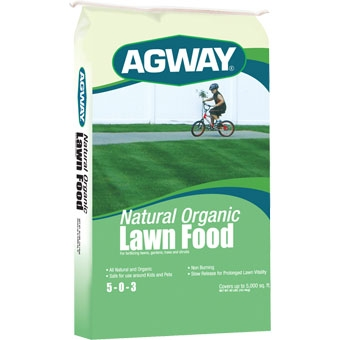 Agway Organic Lawn Food 5-0-3 40 Lb