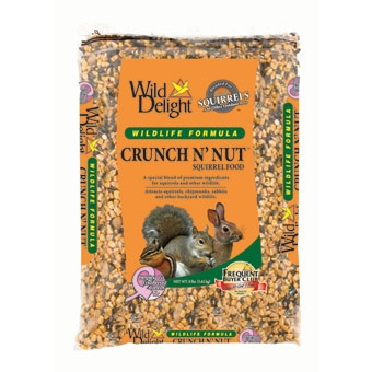 Wild Delight Crunch N' Nut Squirrel Food 8 Lb