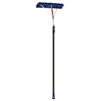 """Ames Telescoping Roof Rake 24\"""" Blade 17' Extended"""