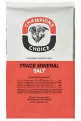 Champions Choice Trace Mineral Salt 50lb