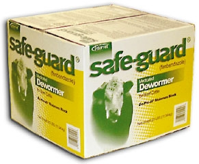 Intervet Safeguard Block 25 Lb