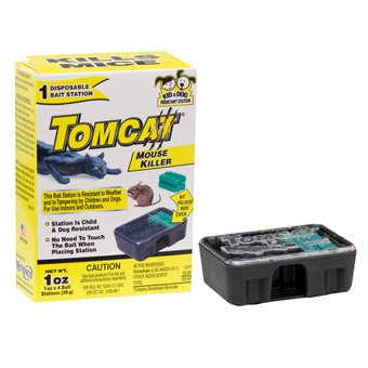 Tomcat Disposable Bait Station With Bait 1 Pk