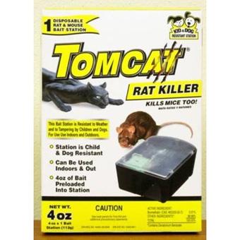 Tomcat Rat Killer Disposable Bait Station 4 Oz