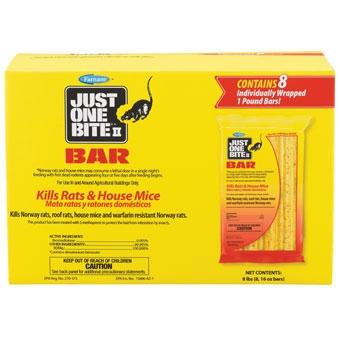 Just One Bite Ii Bar Rat & Mouse Killer 8 Lb
