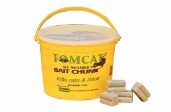Tom Cat Bait Chunks 4lb