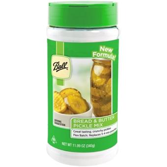 Ball Bread & Butter Pickle Mix 12 Oz