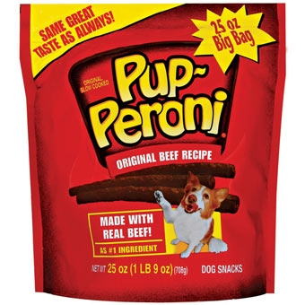 Pup-peroni Original Beef Dog Snacks 25oz