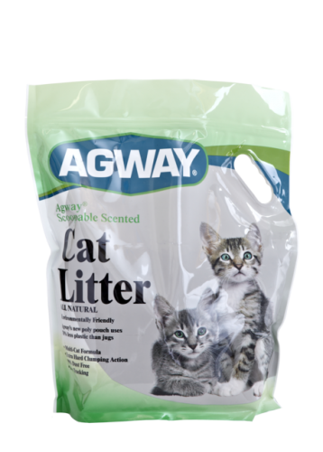 Agway Scoopable Scented Cat Litter All Natural 14lb