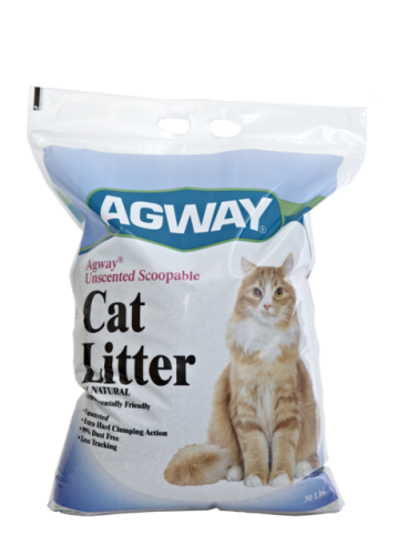 Agway Unscented Scoopable Cat Litter All Natural 30lb