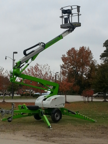Niftylift 42T Trailer Mounted Lift