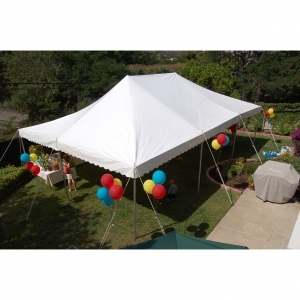 Aztec Tents ATC 20x30x7 Translucent White Canopy